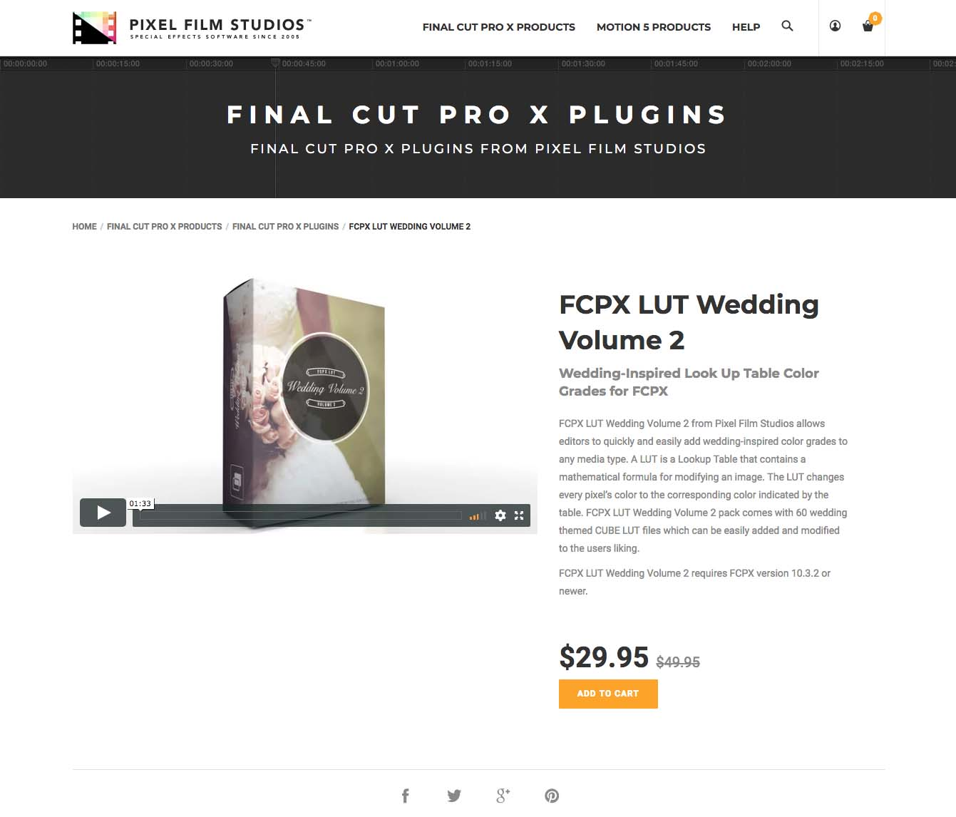 Developers at pixel film studios release fcpx lut wedding for Final cut pro wedding templates