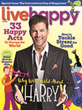 LIve Happy Is Wild About Cover Celeb Harry Connick Jr.