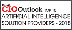 Enhanced Retail Solutions Recognized as a top 10 AI solutions provider