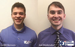 Huffman Engineering hires Grant Benson and Joe Dodendorf