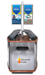 The Island Kiosk Multi user Workstation - Advanced Kiosks