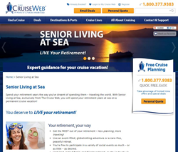Senior Living at Sea homepage