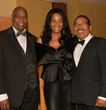 Herb Wesson, NAACP Beverly Hills/Hollywood President Ron Hasson and EP Tia Boyd