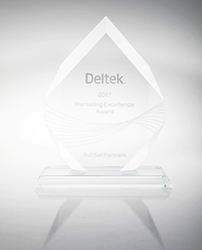 2017 Deltek Marketing Excellence Award