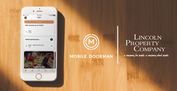 Multifamily-giant Lincoln Property Company announced today that it will be partnering with Mobile Doorman, the industry-leading creator of custom-branded apartment apps for multifamily communities across the United States, to unveil a new series of its best-in-class apartment management apps across the entire Lincoln Midwest portfolio.