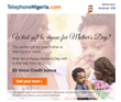 Nigerians Abroad Receive International Calling Credit Gifts before Mother's Day, from TelephoneNigeria.com