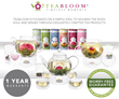 Celebrate Spring's Arrival with Three New Teabloom Tea Gift Options for St. Patricks' Day