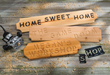 In the custom sign class, you'll use a plunge router and character templates to create your own sign.