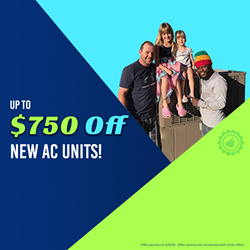 All Year Cooling Coupon $750