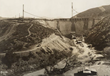 View of St. Francis Dam during construction