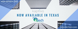 iTech Solutions becomes First Dealer in Texas for Kaptivo, a whiteboard sharing product great for Enterprise and Educational use.