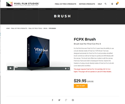 FCPX Brush - Pixel Film Studios Effects - FCPX Plugins