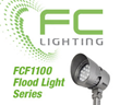 FC Lighting Introduces the New FCF1100 Series LED Flood Lights with Four High Powered Family Size Fixtures for Commercial Exterior Lighting Applications