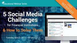 5 Social Media Challenges Webinar