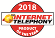 AireSpring Receives 2018 INTERNET TELEPHONY Product of the Year Award