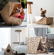 Boxie Pet Homes are a Completely DIY Creative Cardboard Solution for Cats and Dogs