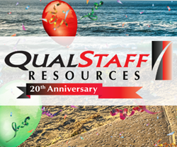QualStaff Resources Celebrates 20th Year in Recruiting Services