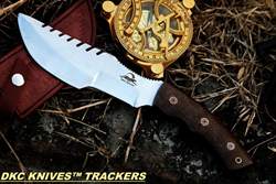Sierra Tracker Survival Prepper Hunting Knife- Premium Survival Knife