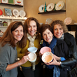 Paint Your Own Pottery (PYOP) Studios Help Volunteers Give Back to their Communities