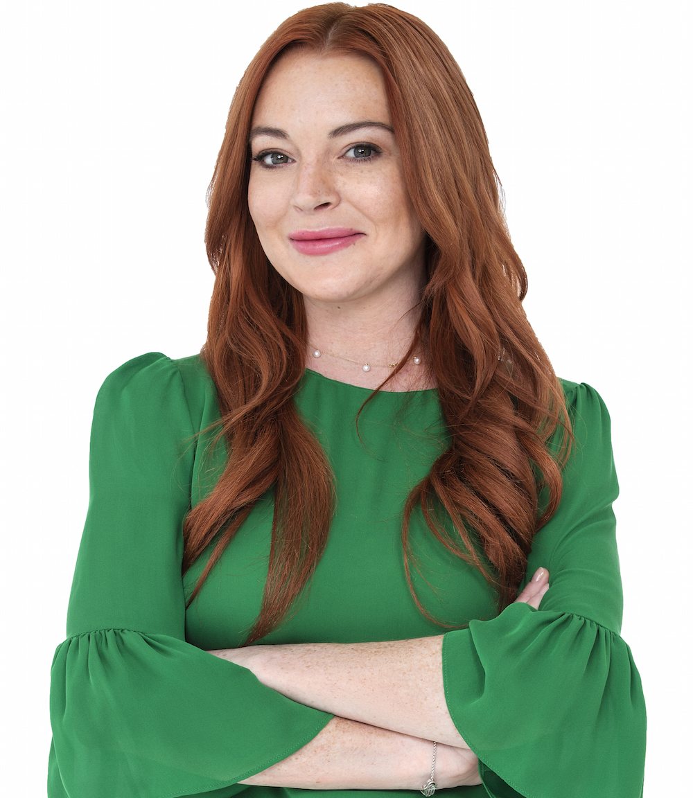 Lindsay Lohan Joins Lawyer.com as Spokesperson, Marketing ...