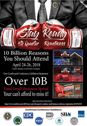 $10 Billion Reasons Why Small Business Owners Should Attend the 2018 'Stay Ready' 4th Quarter Readiness Small Business Conference