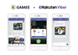 GAMEE Launches Their Viber Chat Extension to 1 Billion Users