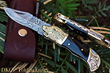 "DKC Knives Releases New Model: The Handcrafted Damascus Steel ""BLACK WOLF"" Premium Foldable Pocket Knife"