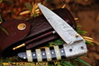 "DKC Knives Releases New Model: The Handcrafted Damascus Steel ""BUMBLE BEE"" Premium Foldable Pocket Knife"