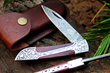 "DKC Knives Releases New Model: The Handcrafted Damascus Steel ""VICTORIAN"" Premium Foldable Pocket Knife"