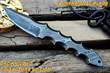 "DKC Knives Releases New Model: The Handcrafted Damascus Steel ""TITAN"" Fixed Blade Bowie Hunting Knive"