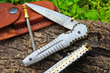 "DKC Knives Releases New Model: The Handcrafted Damascus Steel ""ALLIGATOR"" Foldable Pocket Knife"