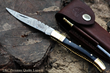 "DKC Knives Releases New Model: The Handcrafted Damascus Steel  ""BLACK PRINCE"" Foldable Pocket Knife"