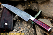 Custom Made Damascus Steel Knives: The Professional Kitchen Knife