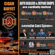 Richie Bello Announces Fine Cigar Dinner Event for Auto Dealers and Repair Shops to be held at Beach Club Estate in New York on May 9, 2018