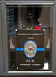 Hansen Glass Was Asked By The Castle Rock Police Department To Build A Glass Memorial Door For Slain Officer Zack Parrish's Locker