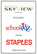 Skyview Capital Acquires SchoolKidz.com from Staples, Inc.