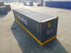 The 40' 'deck and lid' design container