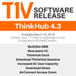 T1V Releases ThinkHub 4.3 Quarterly Software Update, Focuses on Expanded MultiSite and Remote Collaboration Capabilities