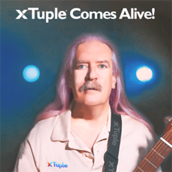 xTuple's head of software development Gil Moskowitz, xTuple proudly presents Greatest Hits Volume Three: xTuple Comes Alive!