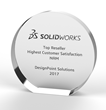 DesignPoint Announcement of Winning Customer Satisfaction Award by SOLIDWORKS