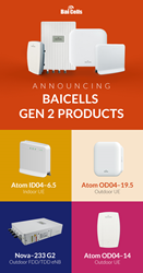 Baicells Gen 2 Gear Available Now