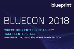 Blueprint announces inaugural user conference bluecon 2018 to bluecon marks the next chapter in the evolution of the blueprint customer community weve worked hard to create a space where our customers can come malvernweather Images