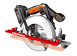 Make accurate rip cuts with WORX ExacTrack