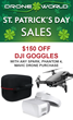 Drone World Offers $150 Off DJI Goggles, Plus DJI Spark and Remote On Sale