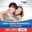 Single and Sober Now has over 7,000 Profiles, Expanded Services to England and Added Pay-Pal