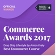 Drop Ship Lifestyle Wins Shopify Commerce Award for Best eCommerce Course
