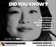 PAINWeekEnd in Garden Grove, California, Offers CE/CME Education to Aid the Opioid Abuse Public Health Crisis
