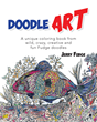 "Jerry Fudge's New Book ""Doodle Art"" is an Entertaining Coloring Book That Contains Fascinating Controlled and Uncontrolled Doodles"