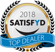 SATISFYD Announces Its List of 55 Top Dealer Award Winners for Highest Customer Satisfaction