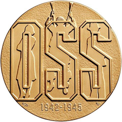 Office of Strategic Services (OSS) Bronze Medal Obverse